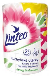 Linteo kuchyňské utěrky bílé XXL 2vr.