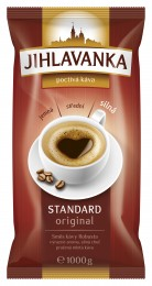 Jihlavanka Standard Original pražená mletá káva 1 kg