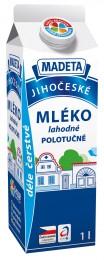 Madeta Jihočeské Mléko polotučné 1,5%