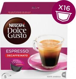 Nescafé Dolce Gusto Espresso Decaffeinato 16 kapslí