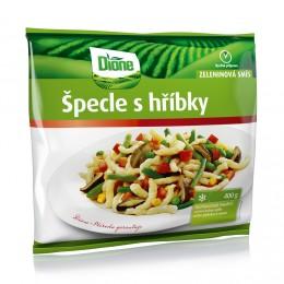 Dione Zelenina na pánev Špecle s hříbky