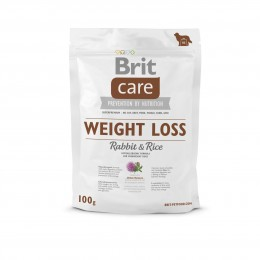 VZOREK: Brit Care Weight Loss Rabbit & Rice 1ks