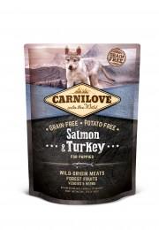 VZOREK: Carnilove Salmon & Turkey for Puppy 1ks