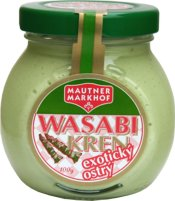 Mautner Markhof Wasabi křen exotický ostrý