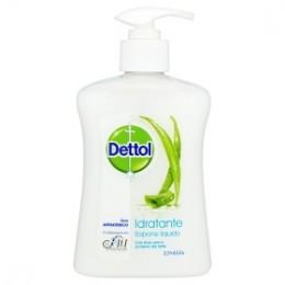 Dettol Hydratační antibakteriální mýdlo s aloe vera a mléčnými proteiny