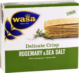 Wasa Delicate pšeničný s rozmarýnem a solí