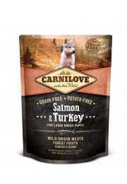 VZOREK: Carnilove Salmon & Turkey for Large Breed Puppy 1ks
