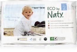 Naty Nature Babycare Jednorázové dětské bio plenky Mini 3-6 g (velikost 2) 34ks