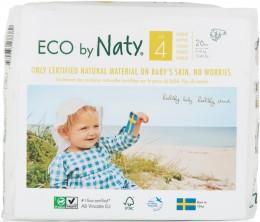 Naty Nature Babycare Jednorázové dětské bio plenky Maxi 7-18kg (velikost 4) 26 ks