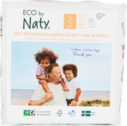 Naty Nature Babycare Jednorázové dětské bio plenky Junior 11-25kg (velikost 5) 22 ks