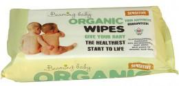 Beaming baby Organické vlhčené ubrousky s vůní 72ks