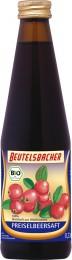 Beutelsbacher 100% brusinková šťáva BIO 330 ml
