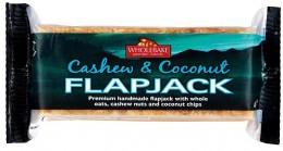 WHOLEBAKE Flapjack ovesný kešu-kokos