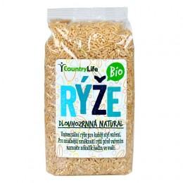 Country Life Rýže dlouhozrnná natural BIO