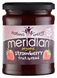 Meridian foods Ovocná pomazánka Bio - Jahoda