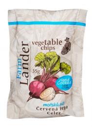 FarmLander chips červená řepa + celer smořskou solí