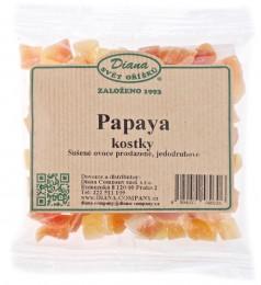 Diana Papaya sušená kostky