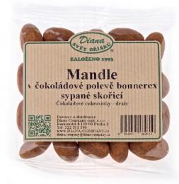 Diana Mandle v polevě Bonnerex s příchutí čokolády obalené ve skořici
