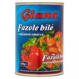 Giana Fazole bílé v tomatové omáčce