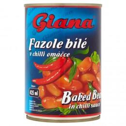 Giana Fazole bílé v rajčatové omáčce s chilli