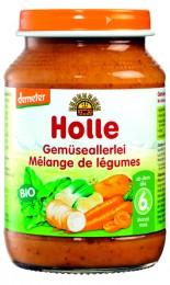Holle Bio dětská přesnídávka zeleninová směs