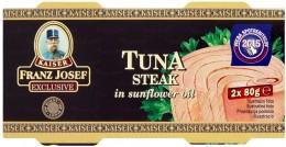 F.J.Kaiser Tuňák steak ve slunečnicovém oleji Pack