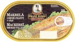 F.J.Kaiser Uzená makrela filety v oleji