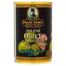 F.J.Kaiser Olivy zelené plněné tuňákovou pastou