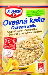 Dr.Oetker Ovesná kaše natural s přírodní vanilkou