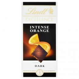 Lindt Excellence Orange Intense hořká čokoláda
