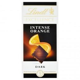 Lindt Excellence Orange Intense hořká čokoláda