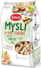 Emco Mysli na Zdraví Sypané s oříšky