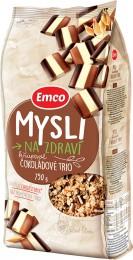 Emco Mysli na Zdraví Křupavé Čokoládové trio