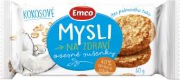 Emco Mysli na zdraví Ovesné sušenky kokosové
