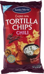 Santa Maria Tex Mex Tortilla chips chilli