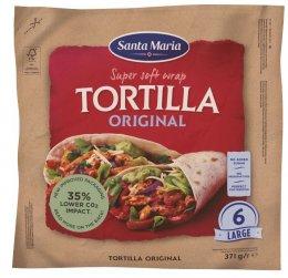 Santa Maria Tex Mex Mexická pšeničná tortilla 24cm 6ks