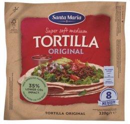 Santa Maria Tex Mex Original soft mexická pšeničná tortilla 20cm 8ks