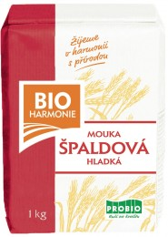 PROBIO Špaldová mouka bílá hladká 1kg