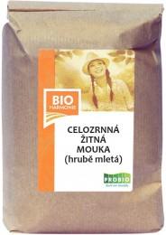 PROBIO Žitná mouka celozrnná hrubě mletá 1kg