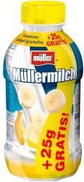 Müllermilch Mléčný nápoj banán+25% Zdarma