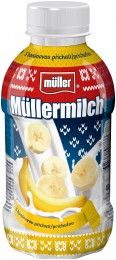 Müllermilch Mléčný nápoj banán