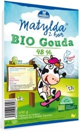 Matylda BIO Sýr gouda 48% plátky