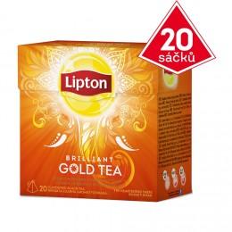 Lipton Gold čaj černý pyramidový 20 sáčků