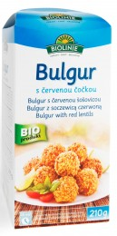 PROBIO Bulgur s červenou čočkou