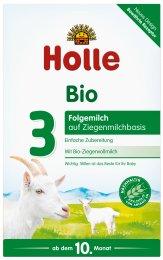 Holle BIO Dětská mléčná výživa na bázi kozího mléka 3. od 10. měsíce věku