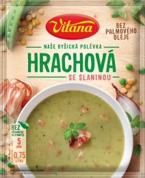 Vitana Hrachová polévka se slaninou
