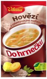 Vitana Do hrnečku Instantní hovězí polévka s celestýnskými nudlemi