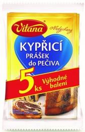 Vitana Kypřicí prášek do pečiva pack 5ks