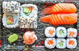 Wasabi Sushi Sushi Box 6 - 2ks Nigiri losos, 4ks California sezam, 4ks Sake maki