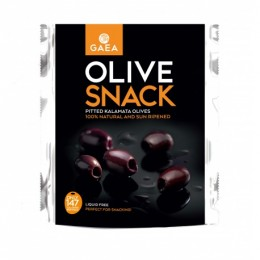 GAEA Olive snack – vypeckované Kalamata olivy